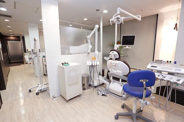 3、ゆったりとした診療スペース